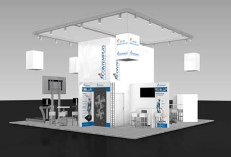 Contemplas Messestand