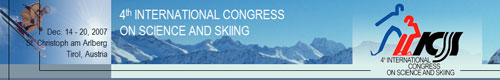 International Congress on Science and Skiing
