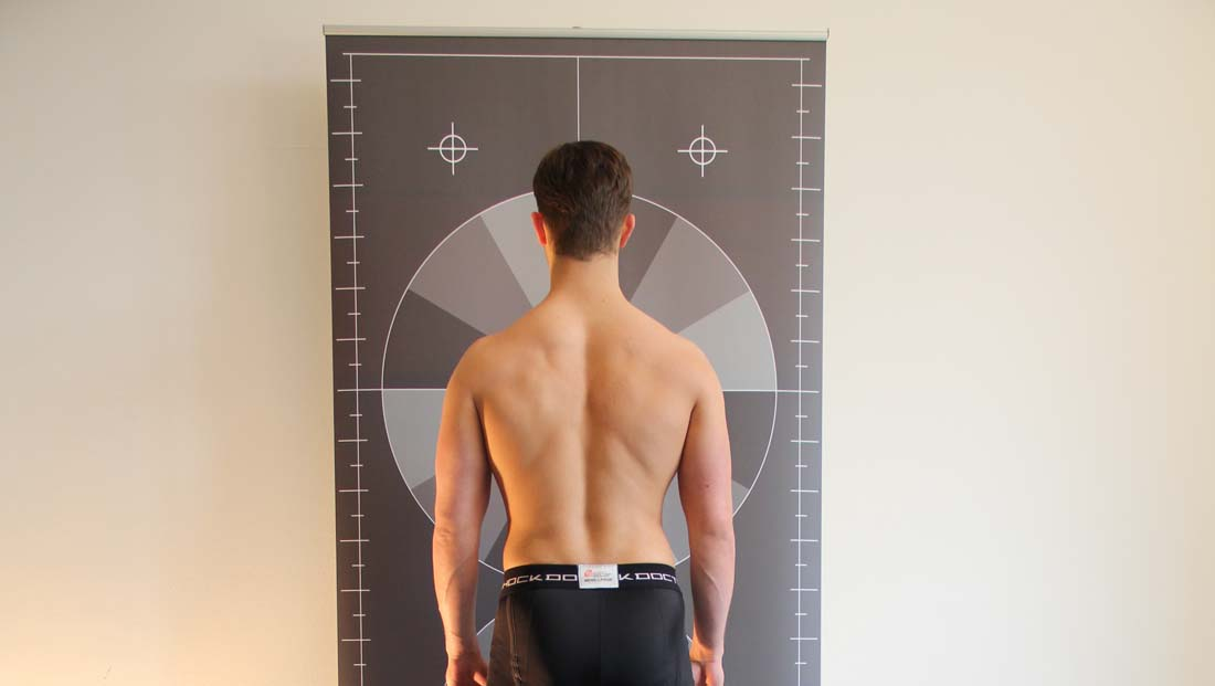 Example for 2D Posture Analysis