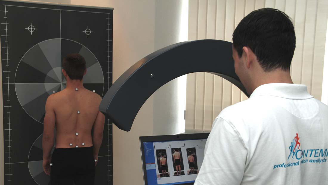 Example for 3D posture Analysis
